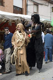 Tordesillas (Valladolid), Spagna - 4 ottobre 2008 Fotografie Stock Libere da Diritti