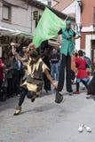 Tordesillas (Valladolid), Spagna - 4 ottobre 2008 Immagini Stock