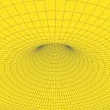 Tore de Wireframe avec les lignes et les points reliés Élément polygonal de maille Illustration EPS10 de vecteur Photos stock
