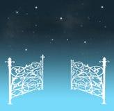 Tore des Himmels Stockbilder