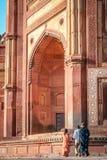 Tore Fatehpur Sikri Stockbild