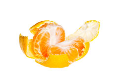 Tore tangerine 2 Royalty Free Stock Images