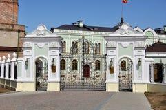 Der Kreml von Kasan, Russland Lizenzfreies Stockfoto
