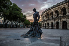 Toreador in Nimes Stock Photography