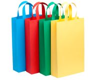 toreb koloru cztery papier Obraz Royalty Free