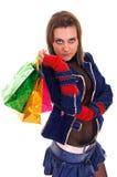 toreb koloru dziewczyna trochę dosyć Zdjęcie Royalty Free