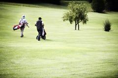 toreb kursu golfa mężczyzna target402_1_ Obraz Stock