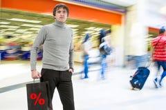 toreb mężczyzna zakupy Obrazy Stock
