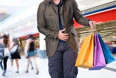 toreb mężczyzna zakupy Obraz Stock