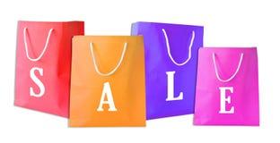toreb odosobniony sprzedaży zakupy Zdjęcie Stock