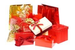 toreb pudełek prezent Zdjęcie Royalty Free