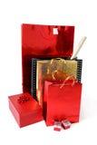 toreb pudełek prezenta zakupy Zdjęcie Stock