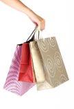 toreb ręki ludzki zakupy Zdjęcie Royalty Free