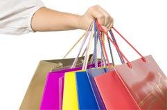 toreb ręki zakupy Fotografia Stock