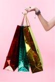 toreb ręki zakupy Zdjęcie Stock