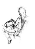 toreb tylne ręki Ilustracja Wektor