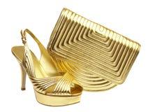 torebka żeńscy buty Zdjęcia Stock