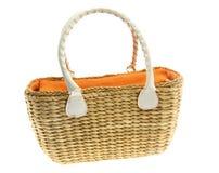 torebka pojedynczy white zdjęcie stock