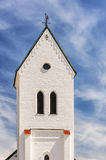 Torekov Church Steeple Royalty Free Stock Photography