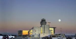 Toren 3 van de Controle van het Luchtverkeer stock foto's