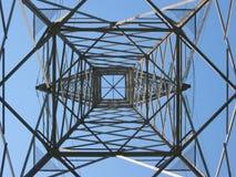 Toren 4 van de hoogspanning Stock Afbeeldingen