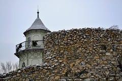 Toren achter de muur Royalty-vrije Stock Fotografie