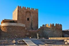 Toren Alcazaba Royalty-vrije Stock Afbeelding