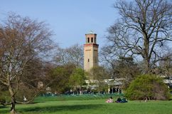 Toren bij Kew-Tuinen, Londen Royalty-vrije Stock Fotografie