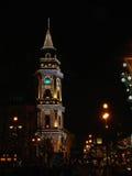 Toren bij nacht Royalty-vrije Stock Foto