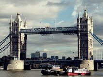 Toren Bridge1 royalty-vrije stock afbeeldingen