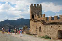 Toren Corrado Cigala Royalty-vrije Stock Foto's