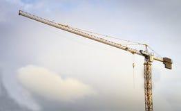 Toren Crane Background royalty-vrije stock afbeeldingen