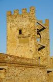 Toren in de oude vesting Stock Afbeeldingen