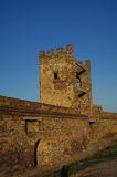 Toren in de oude vesting Royalty-vrije Stock Foto's