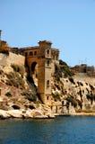 Toren dichtbij het overzees Royalty-vrije Stock Foto