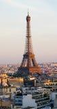 Toren Eiffel in Parijs, Frankrijk Stock Fotografie