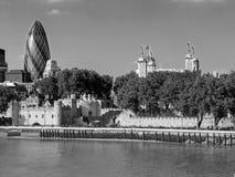 Toren en Augurk royalty-vrije stock foto