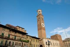 Toren en gebouwen Royalty-vrije Stock Foto's