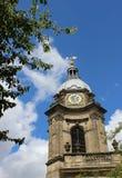 Toren en klok de Kathedraal van Birmingham, Birmingham stock afbeeldingen