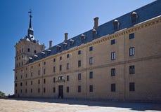 Toren en muur van Escorial Stock Foto