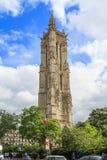 Toren heilige-Jacques in Parijs stock foto's