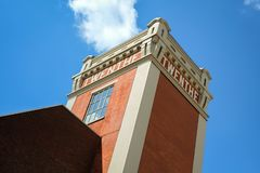 Toren in het Nederland van Almelo stock fotografie