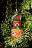 Toren & Kerstmisboom Royalty-vrije Stock Foto's