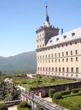 Toren met een Tuin Royalty-vrije Stock Fotografie