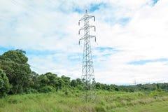 Toren met hoog voltage Royalty-vrije Stock Foto's