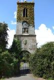 Toren met klok Stock Foto