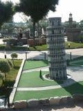 Toren in miniatuur royalty-vrije stock fotografie