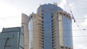 Toren 2000 in Moskou stock videobeelden