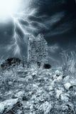 Toren onder het onweer Royalty-vrije Stock Fotografie