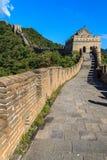 Toren op de grote muur van China royalty-vrije stock afbeelding
